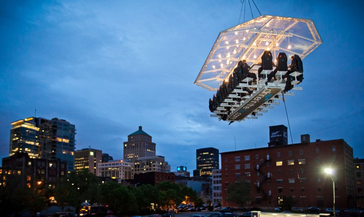 DINNER IN THE SKY - Montreal premier