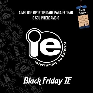 IE Intercâmbio - Black Friday IE